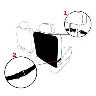 Чехол для спинки переднего сиденья автомобиля Kick Mats