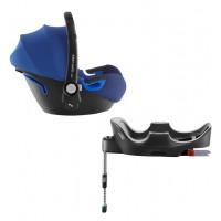 Комплект: автокресло Baby-Safe i-Size (группа 0+, до 13 кг) + база FLEX