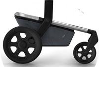 Все колеса ненадувные, устойчивы к проколам, сделаны из вспененной резины