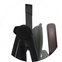 Ремешок-резинка для переноски коляски на плече