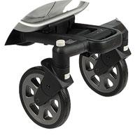 Передние колеса поворотные с блокировкой