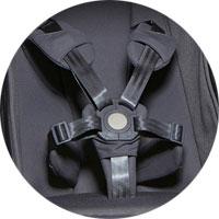 Пятиточечные ремни безопасности с мягкими накладками